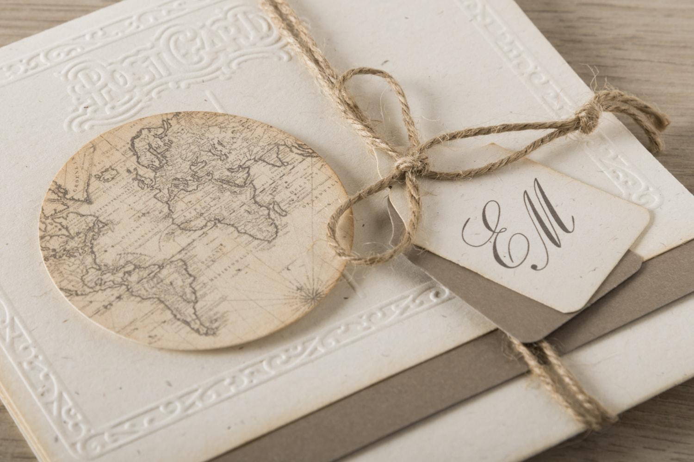 Favoloso Partecipazioni Matrimonio Vintage per le tue Nozze PH16