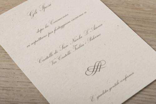 Turchese partecipazione matrimonio shabby chic